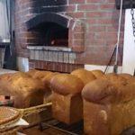 ヴィチーニ特製、特大山形パン焼き上がり