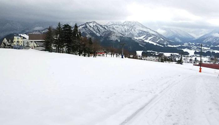岩原本店 クリスマスコース6日目、雪は止みました。