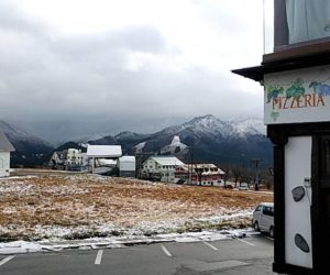ピットーレ岩原本店 12/5本日車両通行できますが、午後から雪、、、