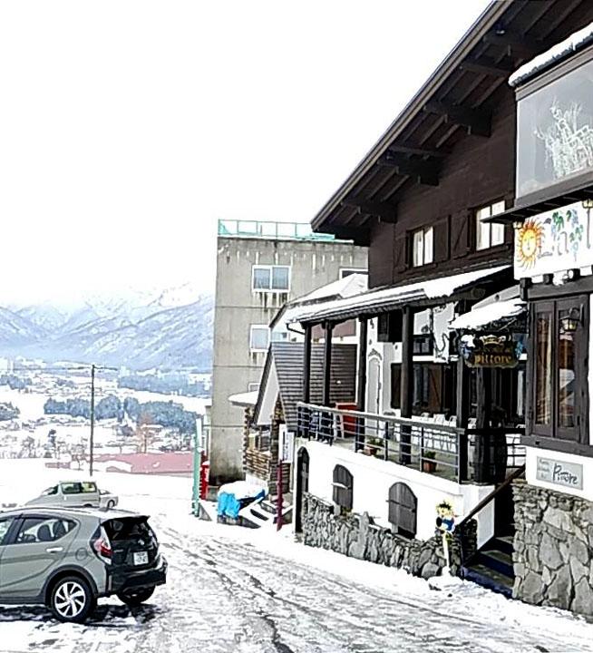 ピットーレ岩原本店 12/7本日車両通行は難しいです。
