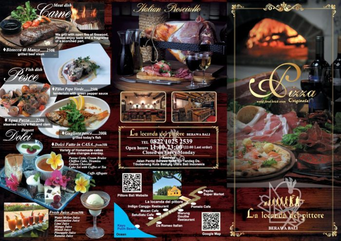 Pittore Bali New leaflet !