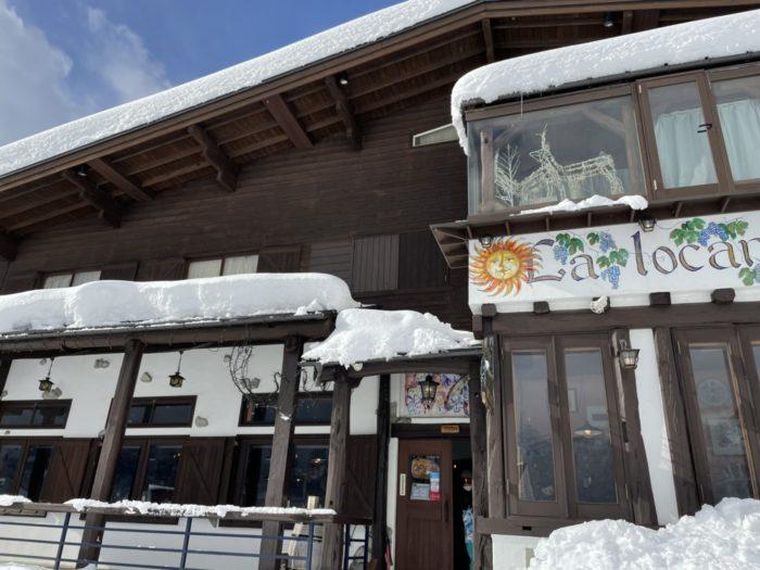 ピットーレ岩原本店 岩原スキー場オープンしました。
