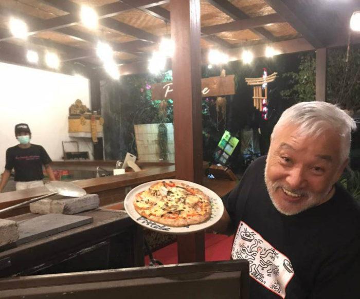 ピットーレ岩原本店 辻伊佐男インドネシアから帰国予定です。